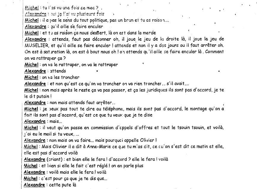 COUP DE FIL A UN AMI (3). Le 10 juillet 2009, Alexandre Guérini appelle Michel Karabadjakian, directeur général adjoint chargé de la propreté urbaine à la communauté urbaine Marseille-Provence-Métropole. Sans fonction à la CUM ni mandat d'élu, le premier mène le bal...