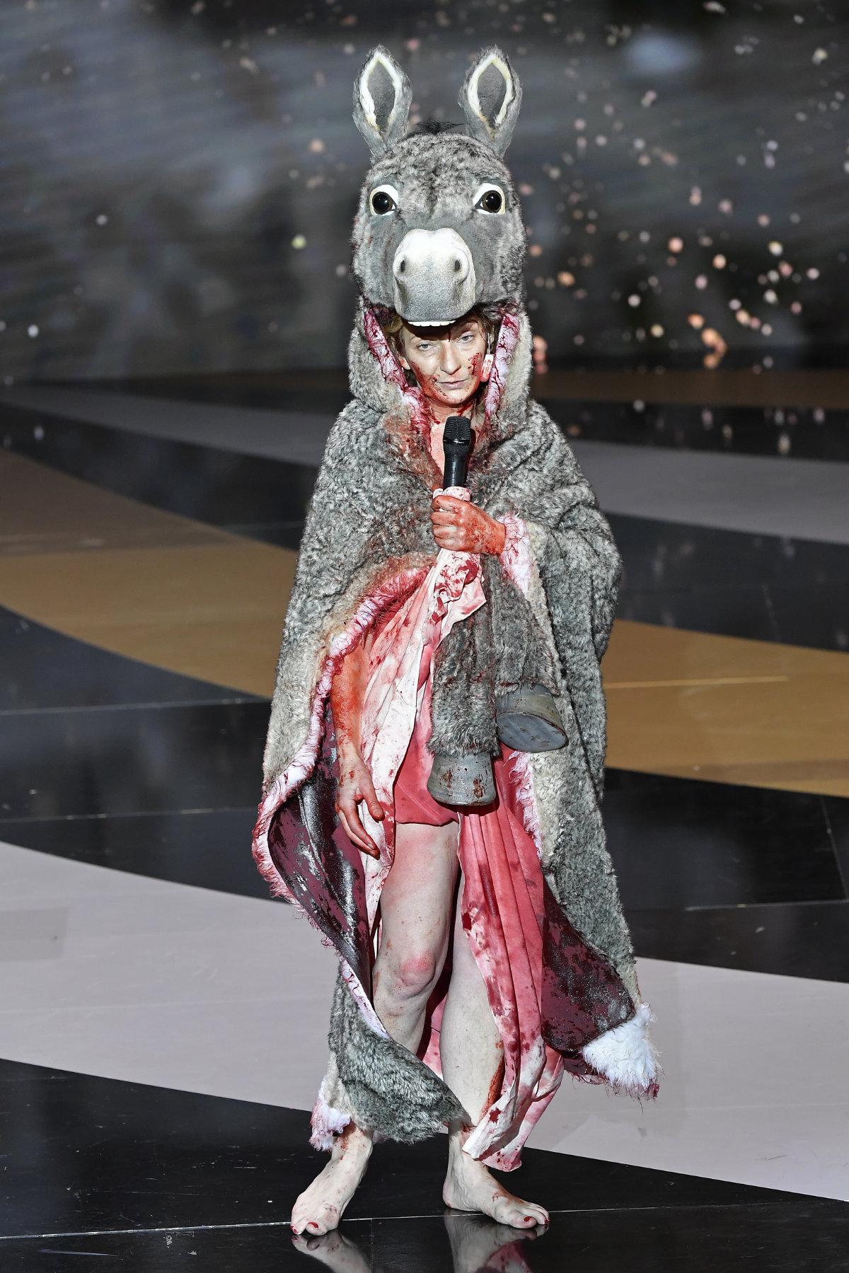 Corinne Masiero, 46e cérémonie des Cesar , 12 mars 2021, paris. / Getty Images via AFP